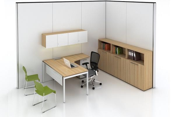 Nội thất bàn ghế văn phòng phải có kích thước phù hợp với không gian
