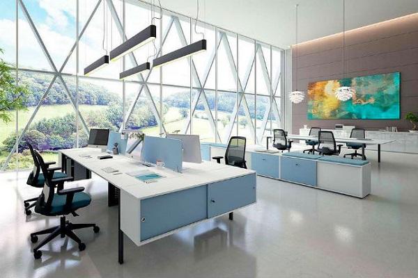 Chất liệu nội thất văn phòng ảnh hưởng trực tiếp tới phong cách thiết kế