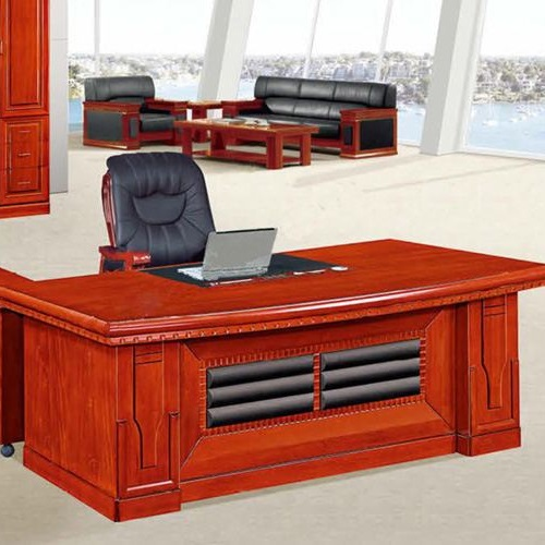 Bàn lãnh đạo Hòa Phát gỗ công nghiệp DT1890V14