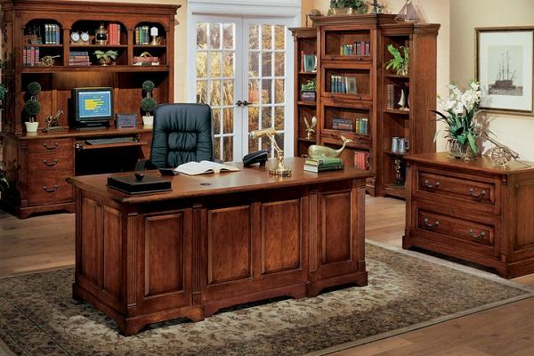 Mua bàn văn phòng bằng gỗ Xoan Đào
