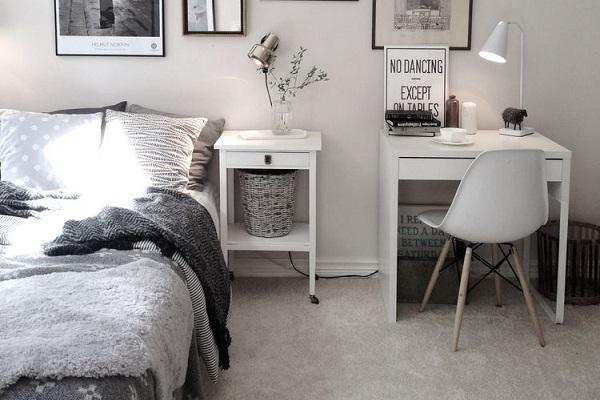 Chọn mẫu bàn làm việc cho phòng ngủ theo sở thích của gia chủ