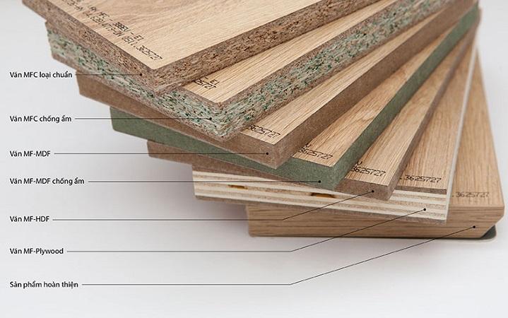 Cấu tạo sơ lược của gỗ công nghiệp MFD - MDF - HDF