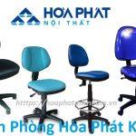 5 mẫu ghế xoay không tay Hòa Phát giá tầm 500k đáng mua nhất 2020