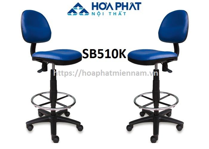 Ghế xoay chân cao không tay vịn Hòa Phát SB510K