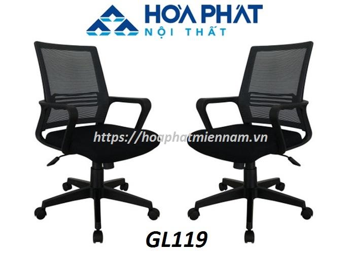 Ghế xoay lưới giá rẻ dành cho nhân viên GL119