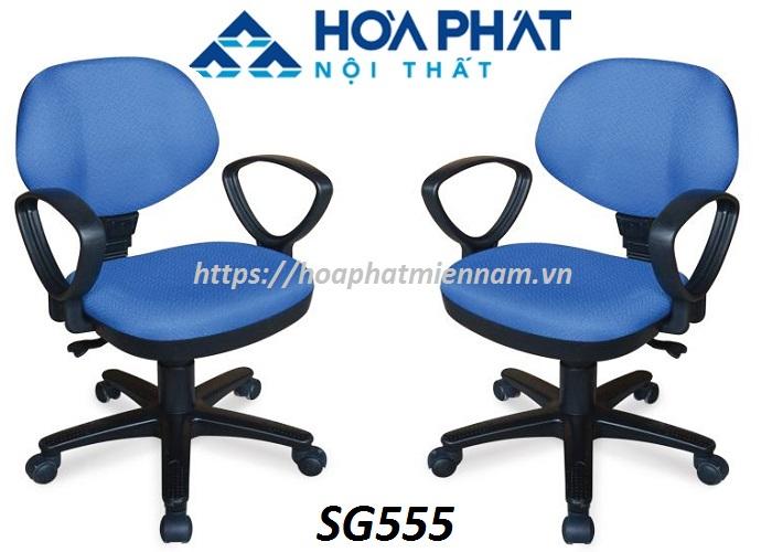 Ghế văn phòng Hòa Phát SG555