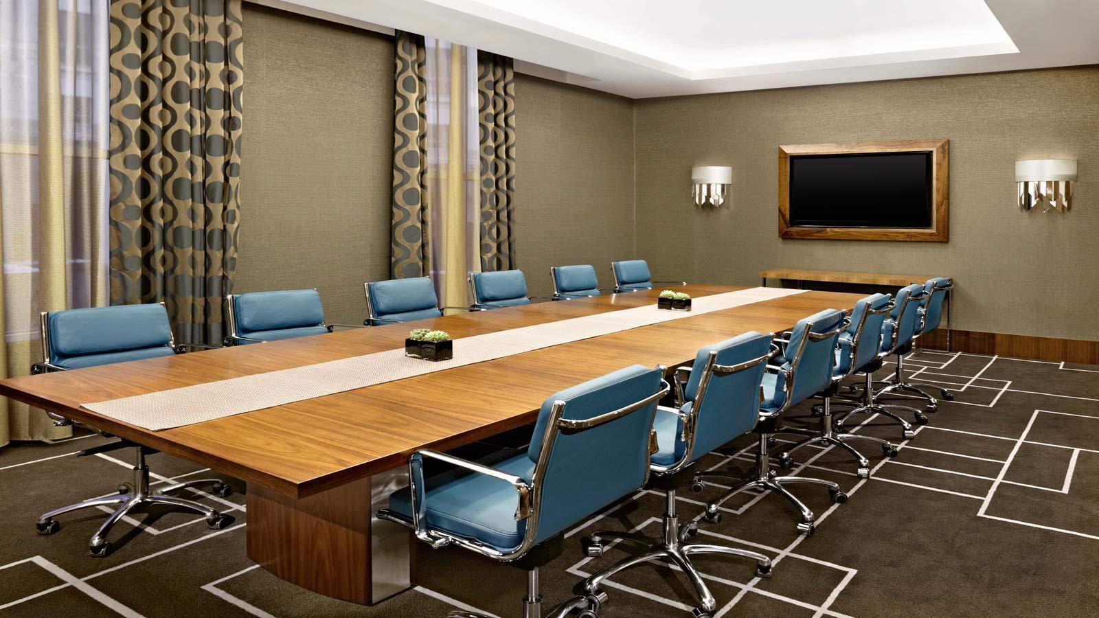 Thiết kế nội thất phòng họp đơn giản