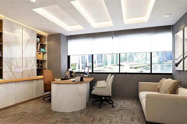 Thiết kế thi công nội thất văn phòng giám đốc