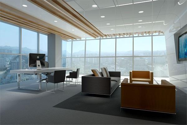 Thiết kế nội thất không gian nội thất phòng làm việc giám đốc