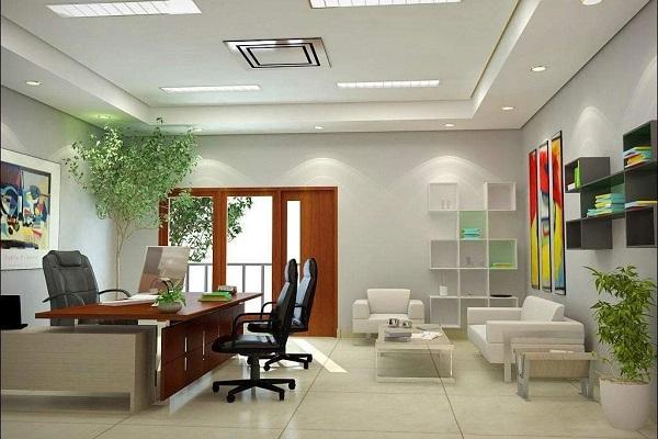 Văn phòng trang bị sofa tiếp khách sang trọng