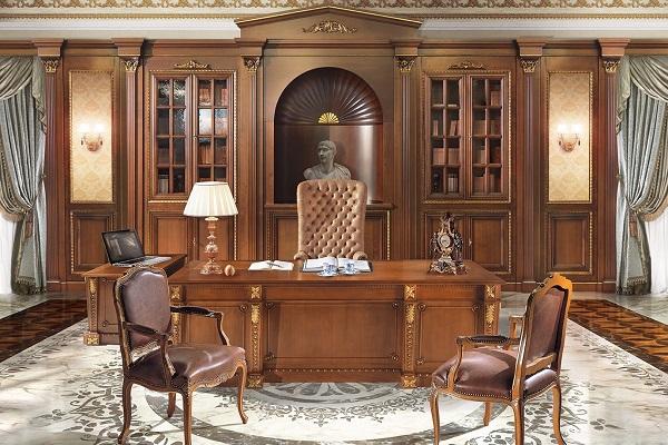 Nội thất văn phòng giám đốc phong cách cổ điển 5
