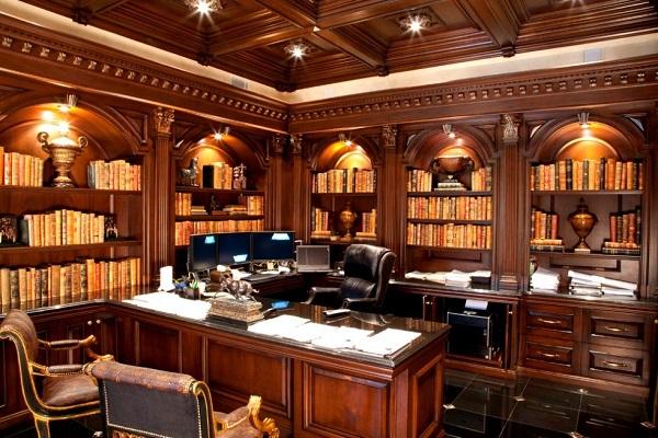 Nội thất văn phòng giám đốc phong cách cổ điển 1