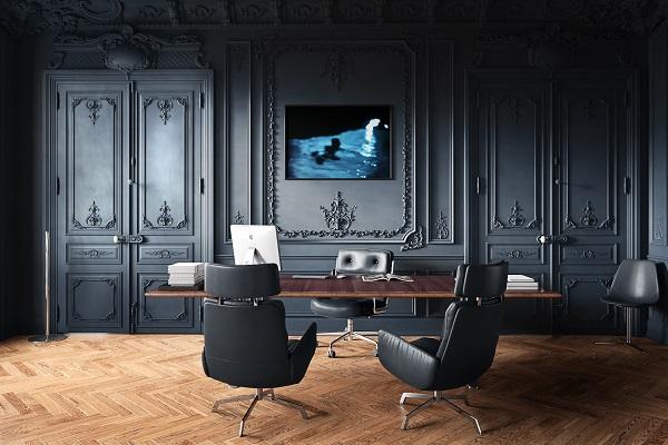 Thiết kế nội thất văn phòng lãnh đạo phong cách tân cổ điển 9