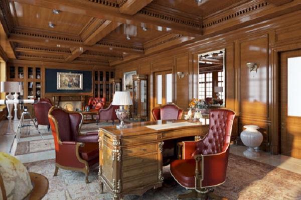 Thiết kế nội thất văn phòng lãnh đạo phong cách tân cổ điển 4