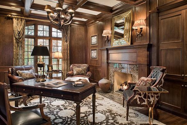 Thiết kế nội thất văn phòng lãnh đạo phong cách tân cổ điển 2