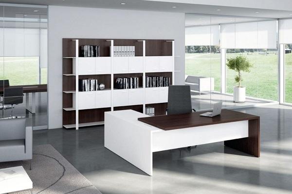 Thiết kế khôn gian nội thất làm việc cho văn phòng lãnh đạo