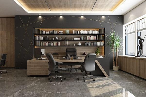 Thiết kế văn phòng giám đốc hiện đại 8