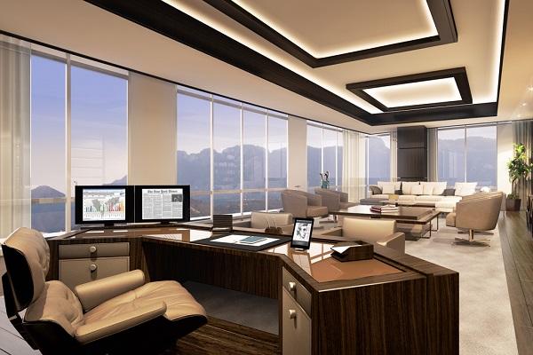 Thiết kế văn phòng giám đốc hiện đại 3