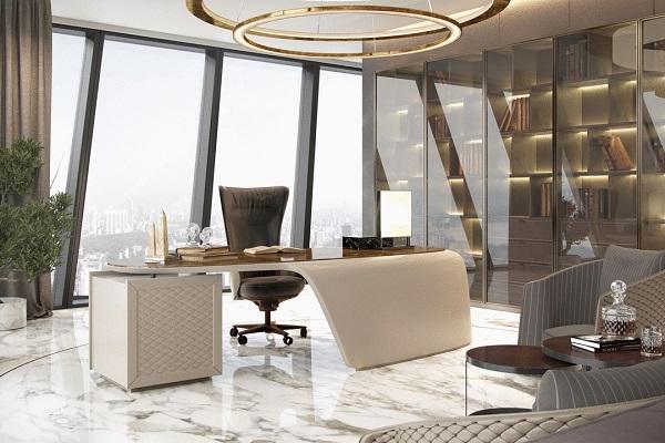 Thiết kế văn phòng giám đốc hiện đại 4