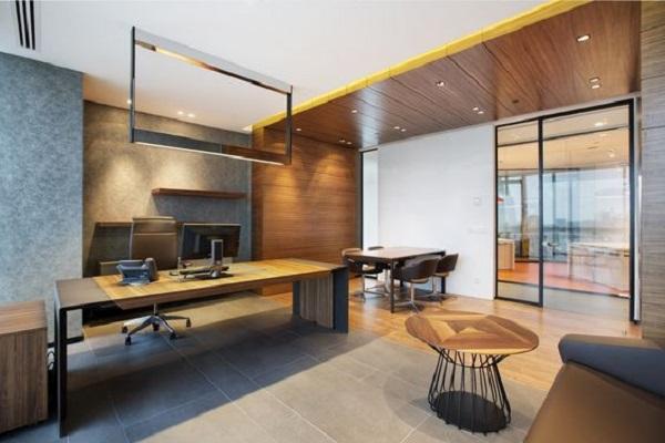 Thiết kế nội thất văn phòng giám đốc đẹp hiện đại