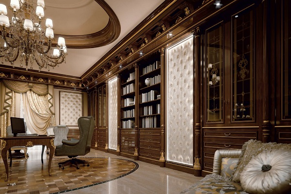Nội thất văn phòng giám đốc phong cách cổ điển 7