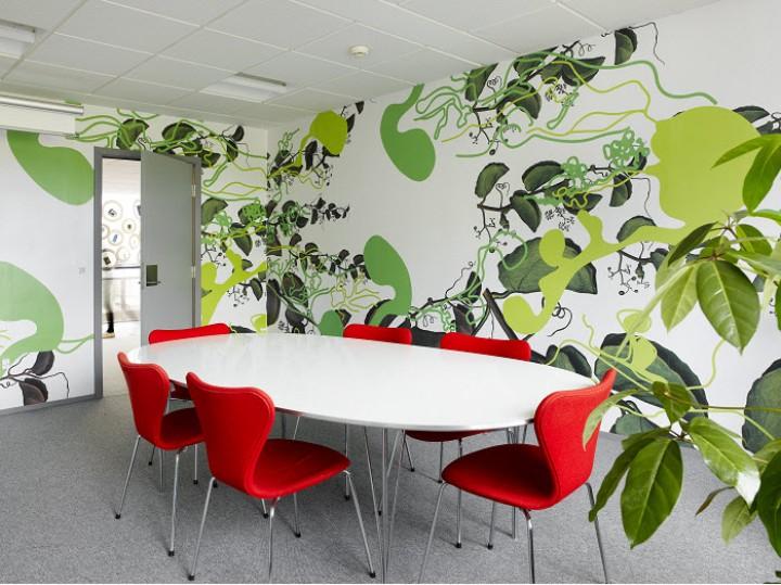 Thiết kế nội thất phòng họp sáng tạo