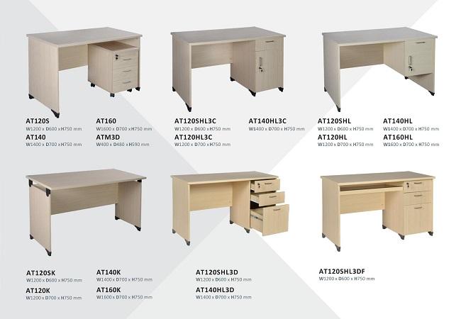 Các sản phẩm bàn làm việc gỗ công nghiệp Hòa Phát