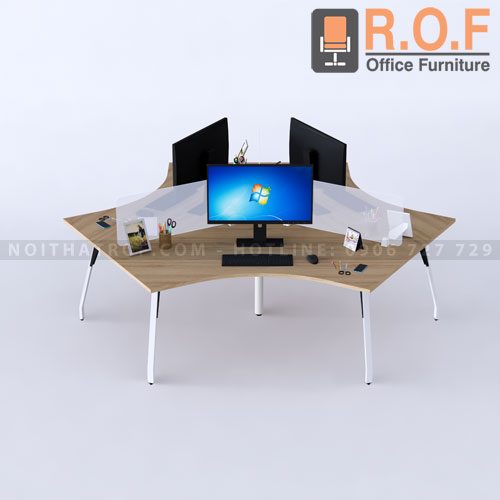 Cụm bàn 3 chỗ ROF MD03C24
