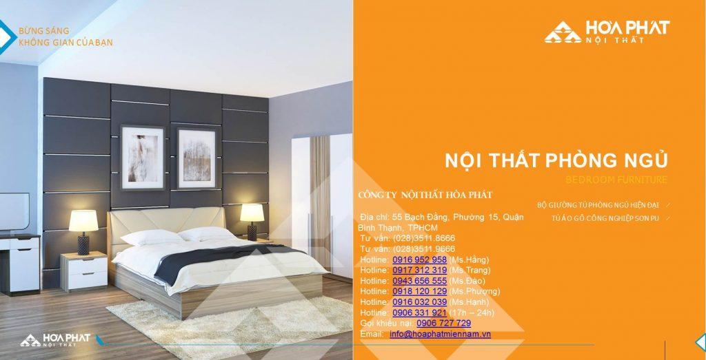 Catalogue giường ngủ Hòa Phát 2020