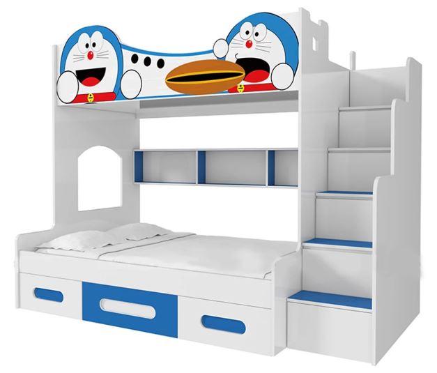 giường ngủ trẻ em 3 tầng doremon