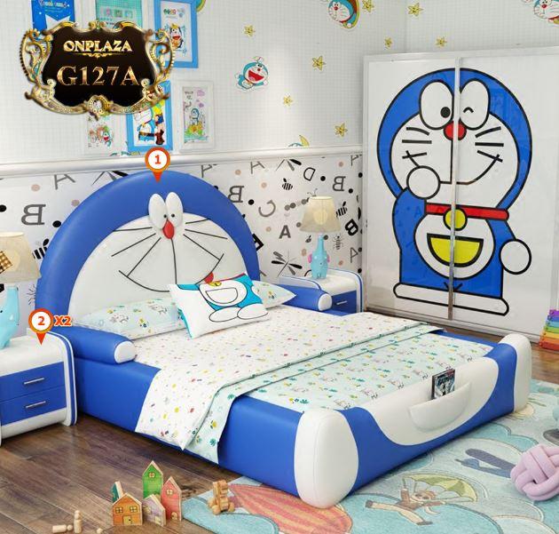 giường ngủ trẻ em doremon