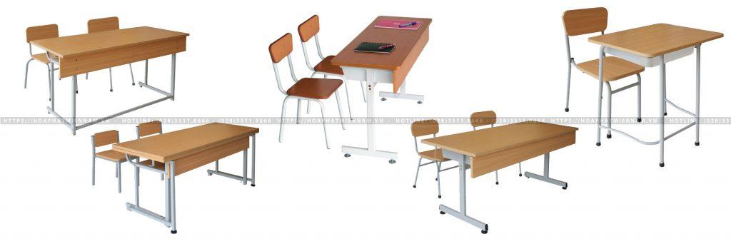 bàn học sinh ghế rời