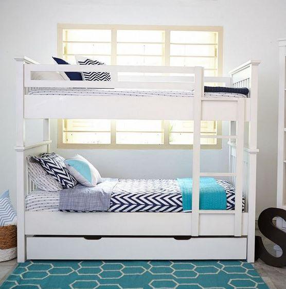 giường 3 tầng kiểu kết hợp TG301