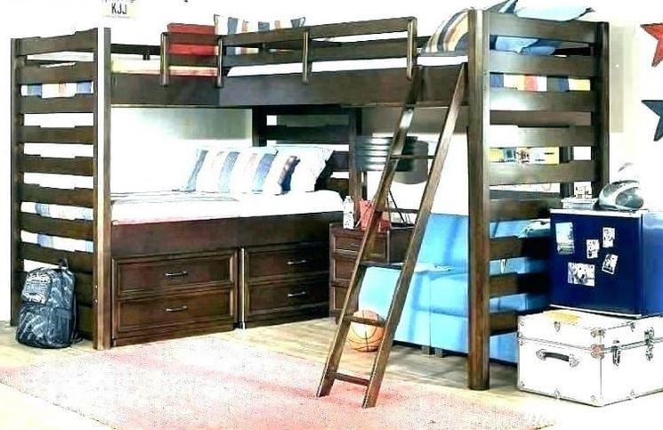 giường 3 tầng kiểu chữ L