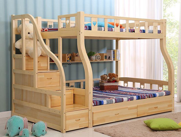 giường 3 tầng gỗ tự nhiên GT321