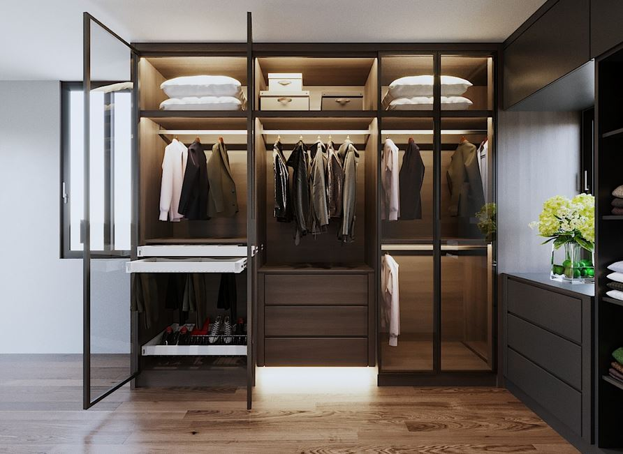 kích thước tủ quần áo theo lỗ ban