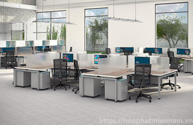 thiết kế phòng làm việc công sở