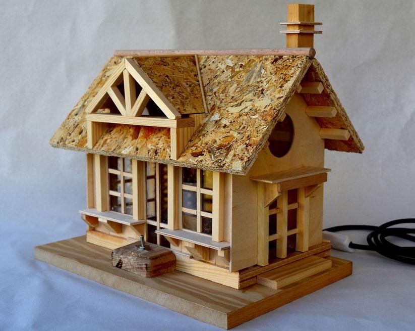 Nhà thủ công gỗ