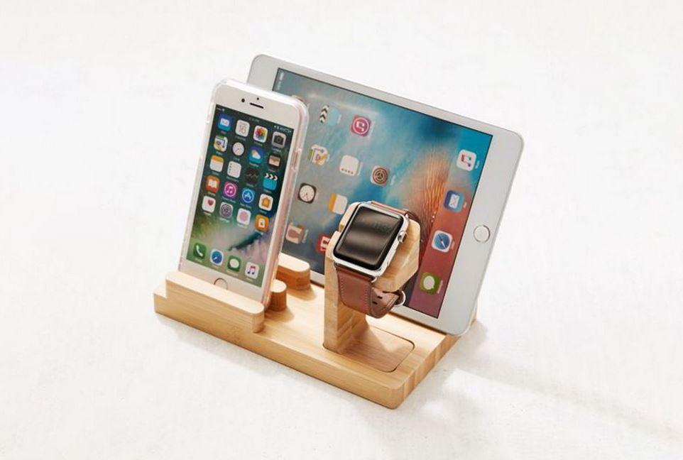 Vừa để Ipad và Smartphone lại có thể để thêm đồng hồ nữa