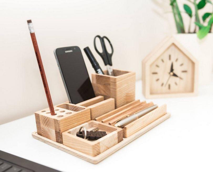 Đồ gỗ để những món đồ vật linh tinh gọn gàng