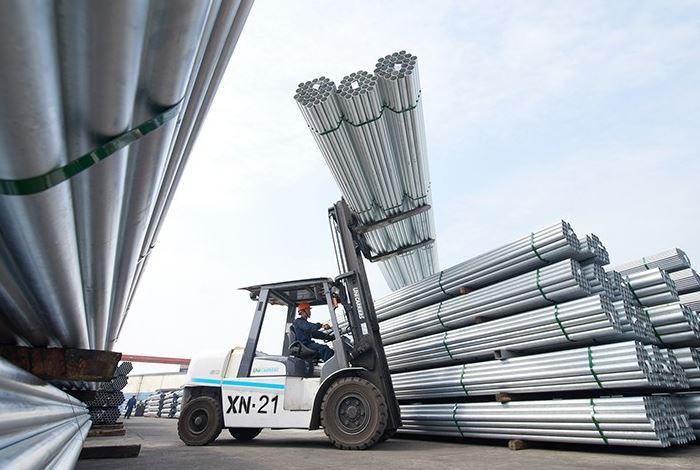 Tháng 8, sản lượng tiêu thụ của ống thép Hòa Phát gần 76.500 tấn, tăng 38,2% so với cùng kỳ