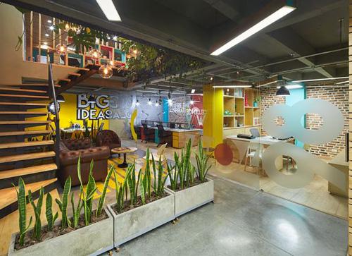 Hình ảnh không gian văn phòng hiện đại 3