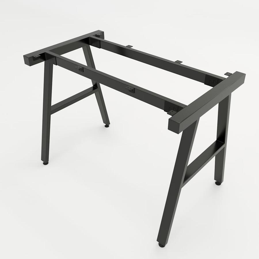 Chân bàn Aconcept sắt hộp 25x50mm cho bàn làm việc kích thước tiêu chuẩn 120x60x75(cm)