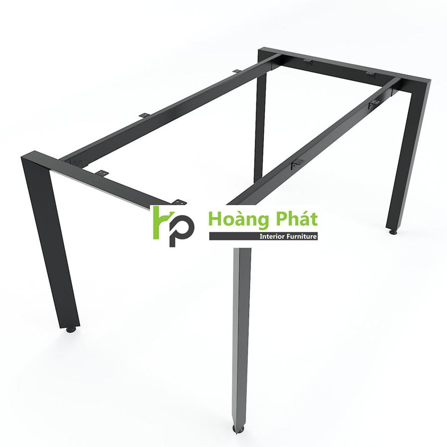 Chân bàn sắt tam giác mang đến sự chắc chắn cơ cấu lắp ráp ngàm