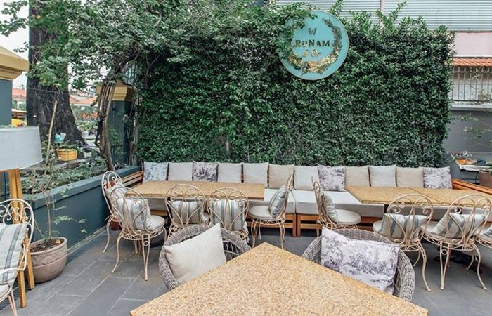 Không gian cafe cực chill tại Runam D'or Coffe