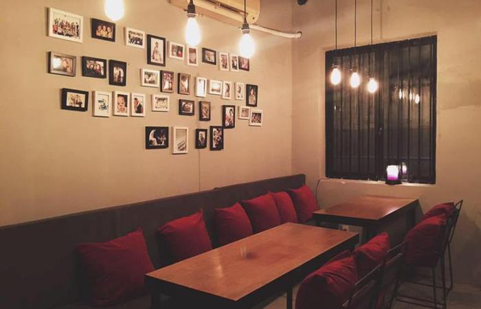Không gian bên trong We's Corner Coffee