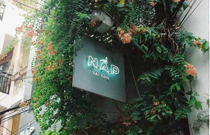 Cafe Nấp Saigon quận 1