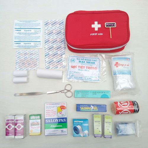 Một vài các dụng cụ sơ cứu cần thiết