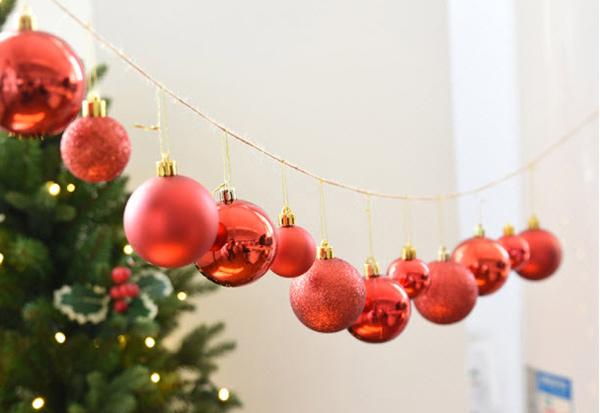 Trái châu trang trí Noel