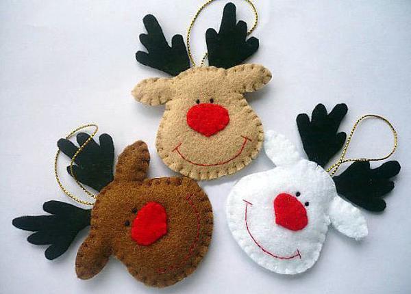 Các món đồ nhỏ xinh handmade trang trí Noel cho văn phòng